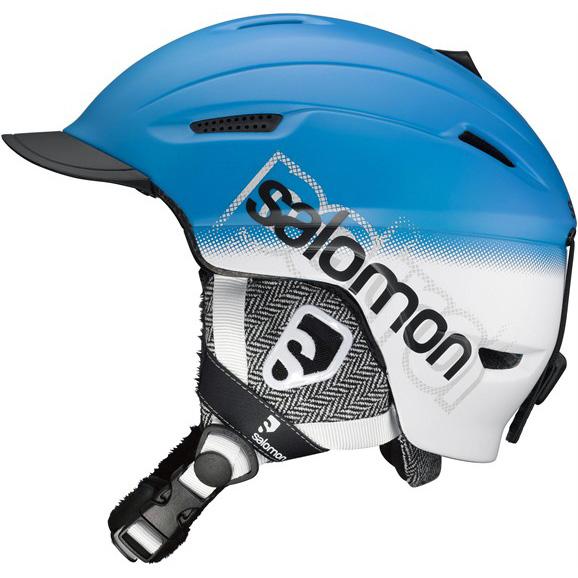 27825391e Lyžiarska prilba SALOMON Patrol - modrá. Odľahčená škrupinová lyžiarska a  snowboardová prilba ...