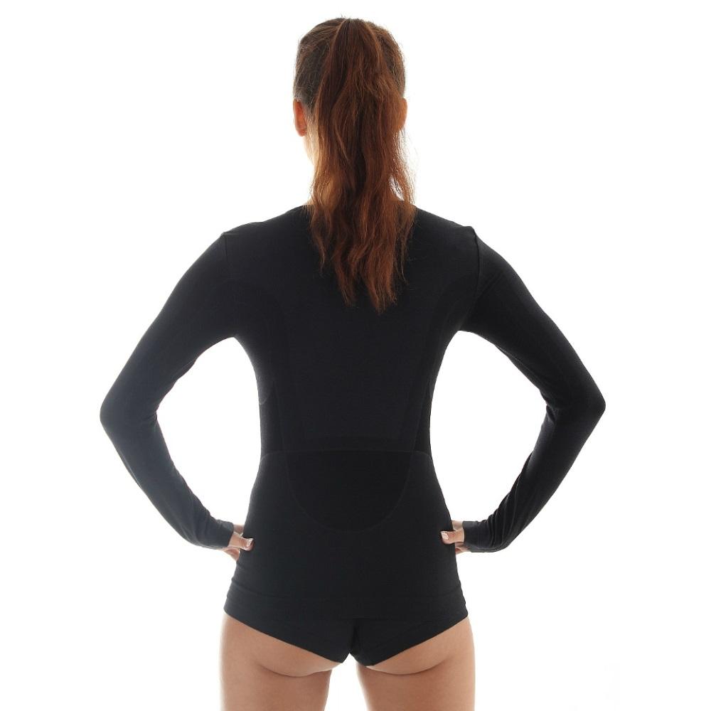af92a41b0fc Dámske tričko Brubeck - vlna dlhý rukáv - čierna. Dámske termo tričko s  dlhým ...