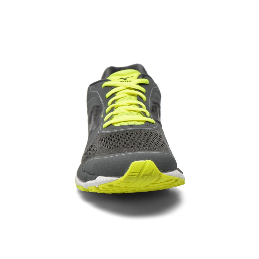 Pánske bežecké topánky MIZUNO Synchro MX - DarkShad Black SafYellow.  Maximálna stabilita ... 462c50641ab