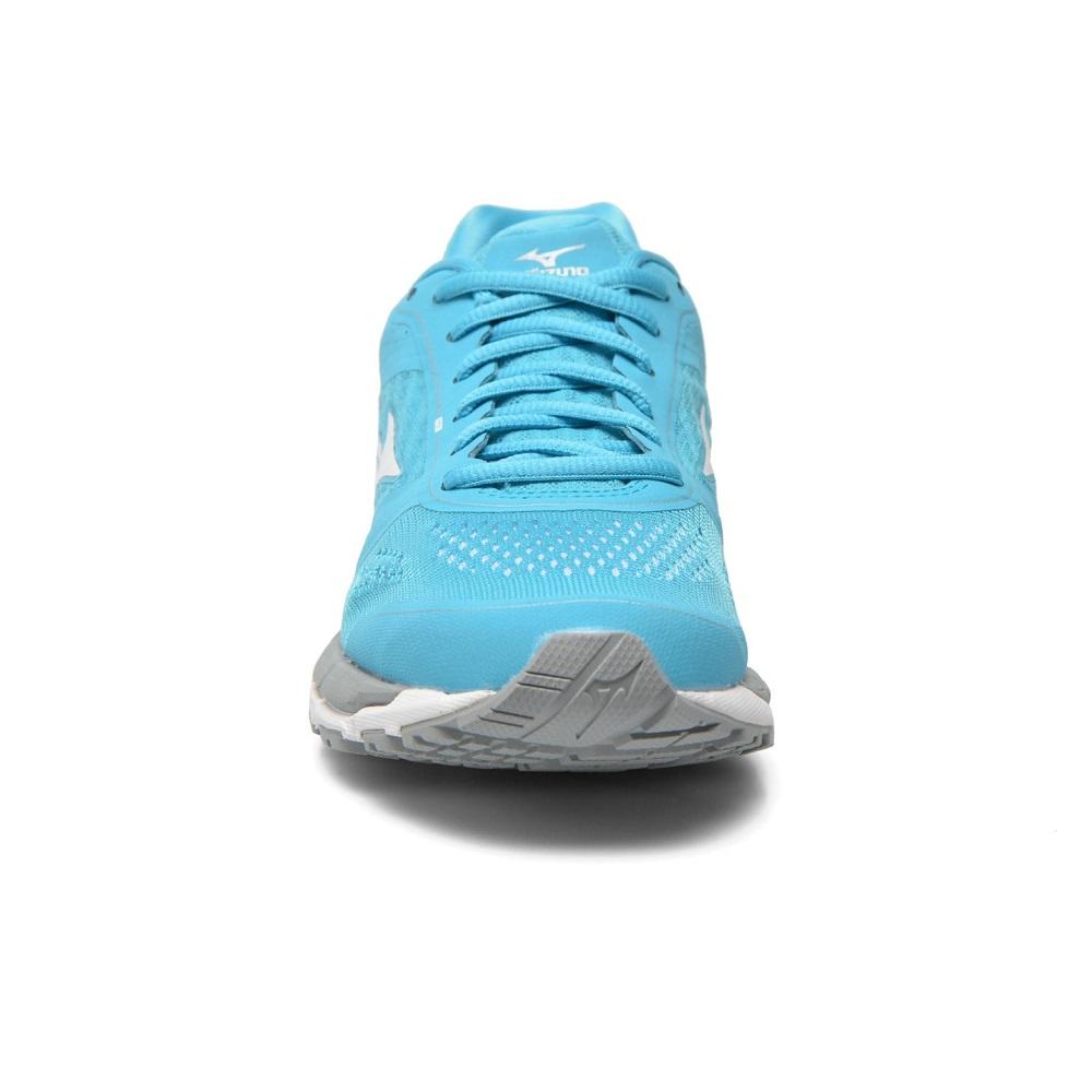Dámske bežecké topánky MIZUNO Synchro MX - BlueAtoll White Silver. Pohodlná  ... f001924623f