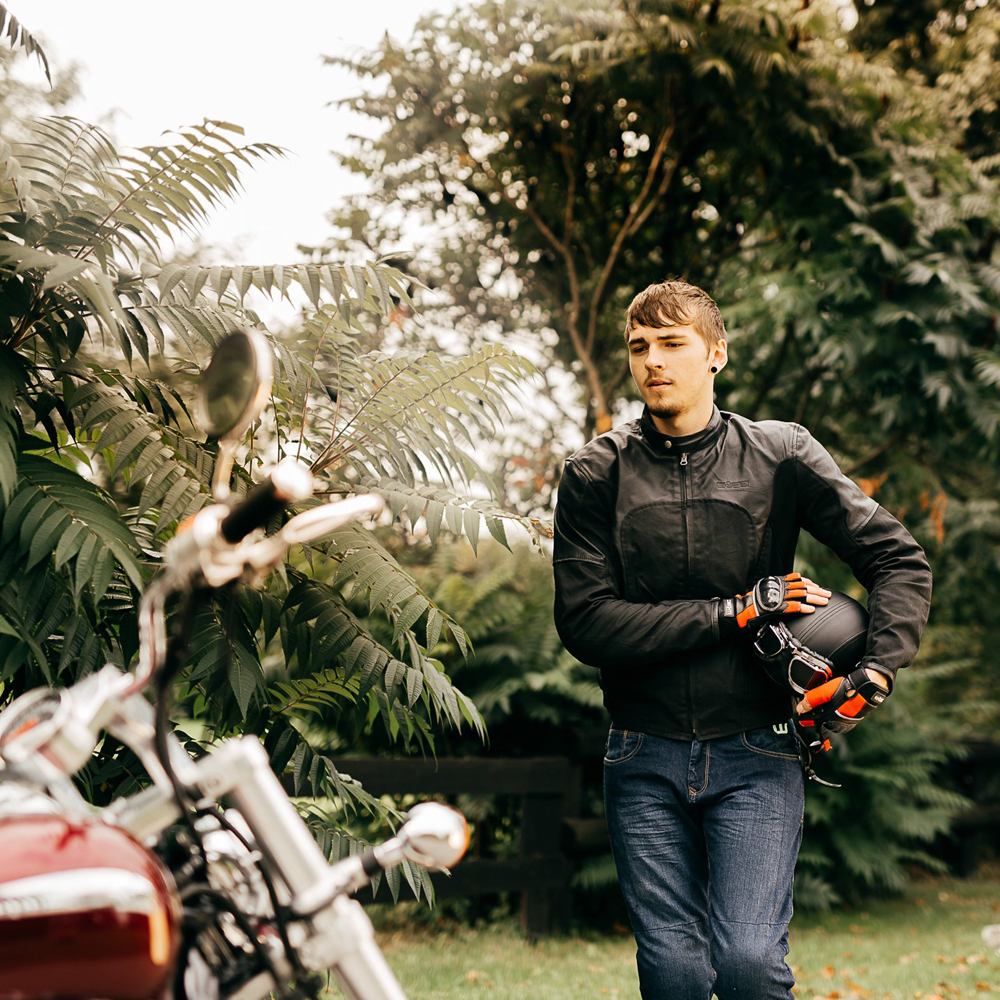 b64c3776aaa Kožené bezprstové moto rukavice W-TEC Reubal NF-4190 + darček  1 mesiac  členstvo v Gymbee.cz