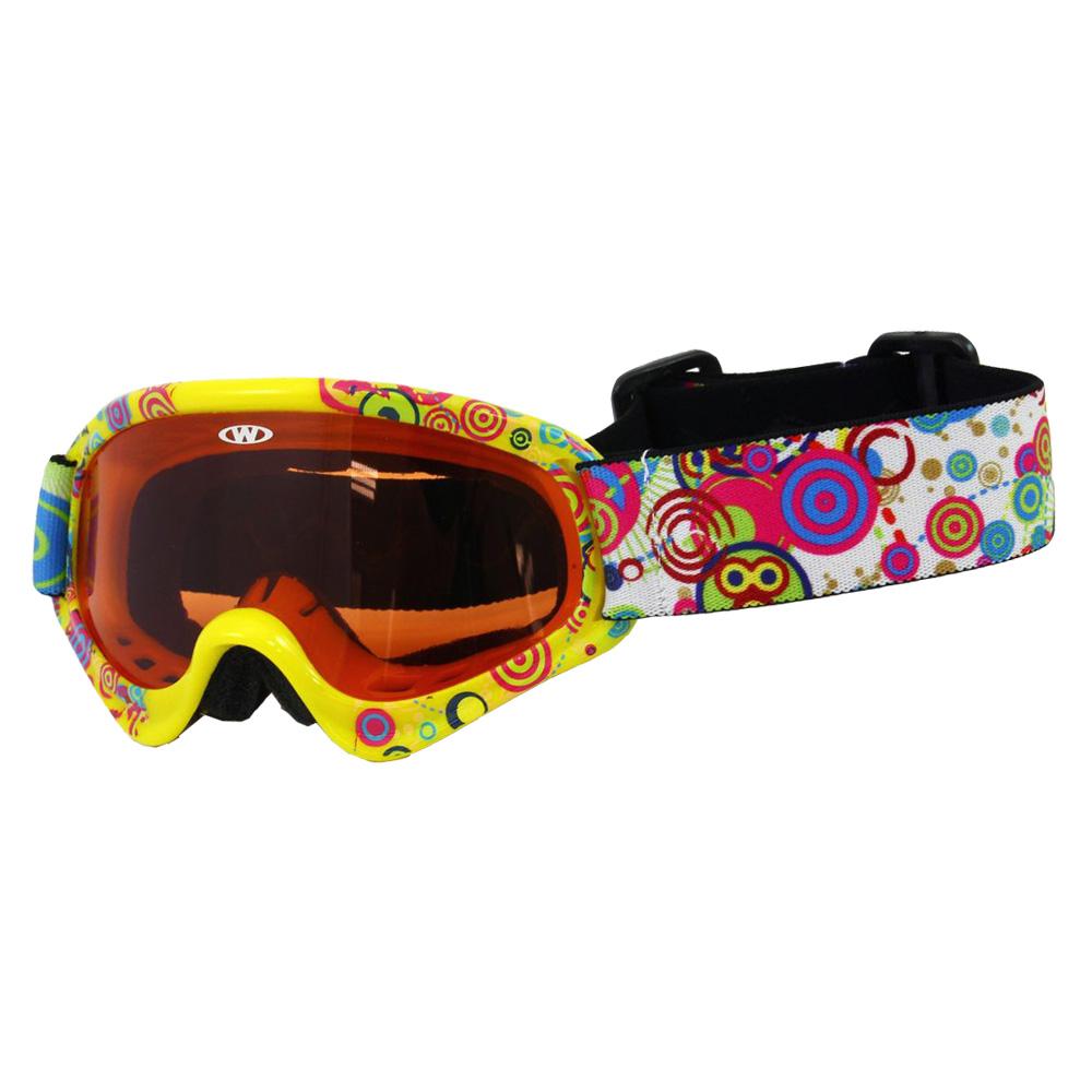 Detské lyžiarske okuliare WORKER Sterling s grafikou - Z12-BLU-modrá ... 7d23654a263