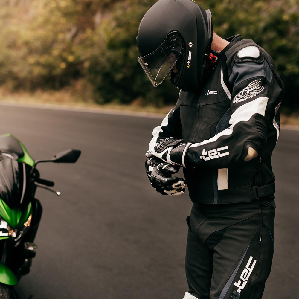 4abc05278 Pánske moto rukavice W-TEC Octane. Kožené rukavice ...