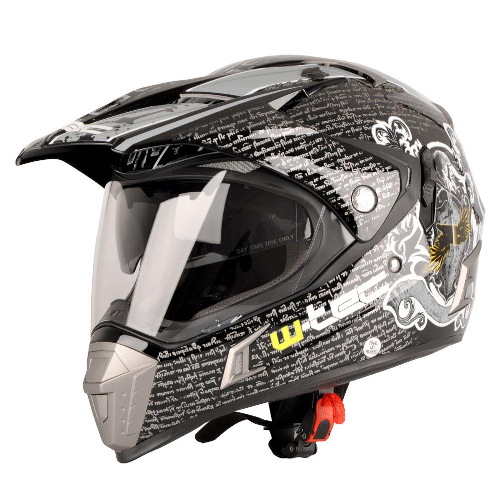 aee5afde6c412 Moto prilba W-TEC NK-311 - Duo Sport Black Grey