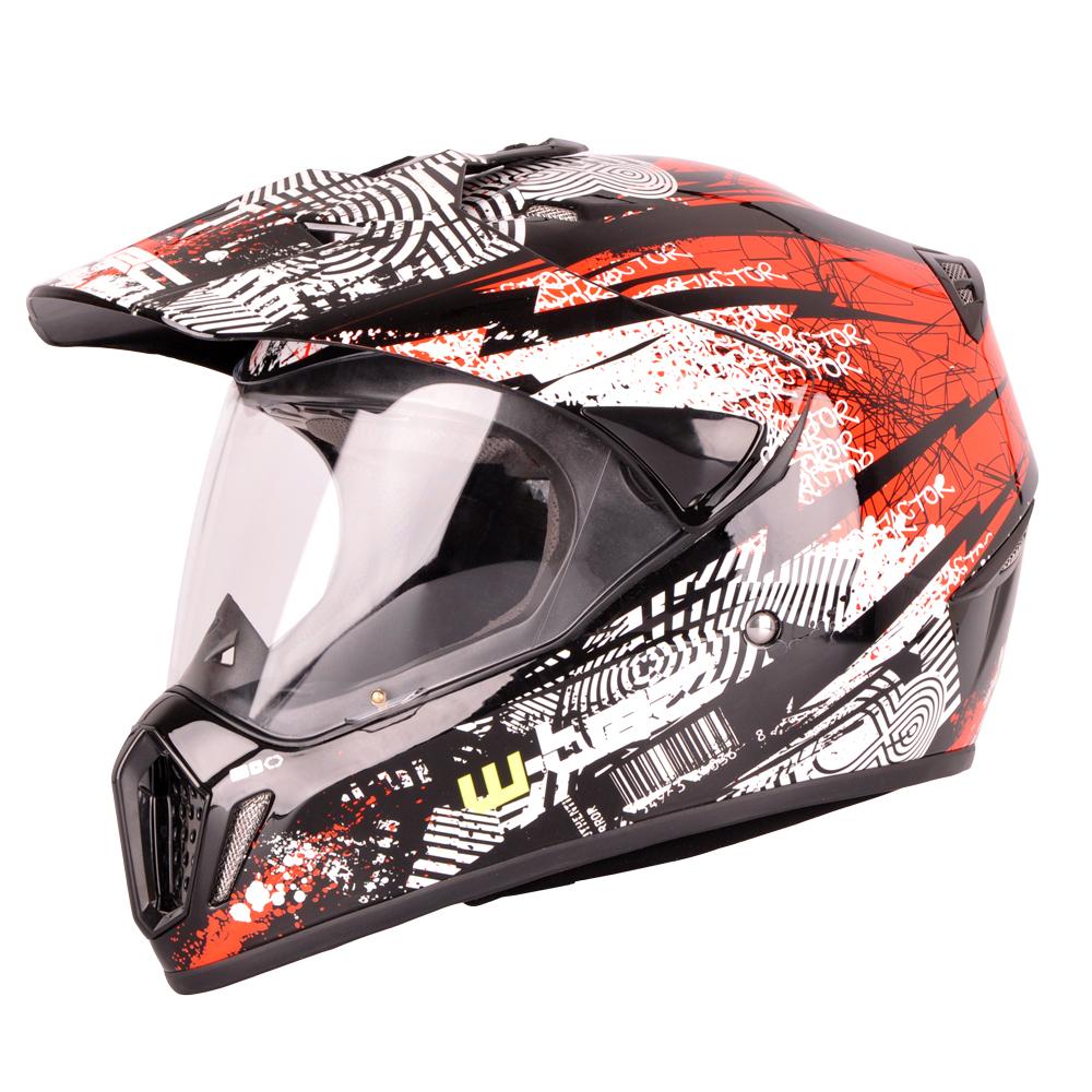 3deaead6b3b5b Prilba na motorku W-TEC NK-310 - čierno-červená