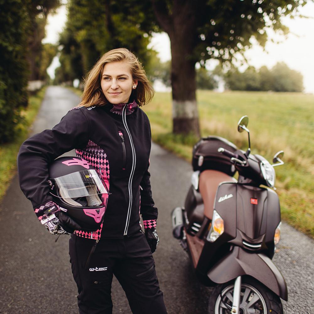 Dámske softshell moto nohavice W-TEC Ditera NF-2881 - čierna. Ľahké nohavice  ... 3a1a0923659