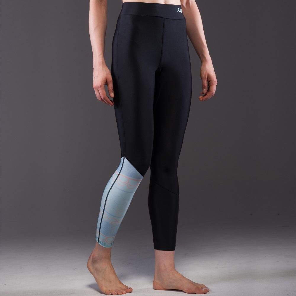 110b832cd Dámske nohavice pre vodné športy Aqua Marina Illusion - čierna. Rýchloschnúce  nohavice ...