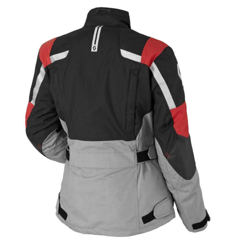 Dámska moto bunda SCOTT W s Turn ADV DP MXVII - black-light grey. Vzdušná  ... 013de2917ba