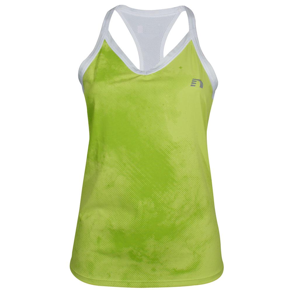 Dámske športové tielko Newline Imotion Print Tank - biela. Športové funkčné  tričko ... f1c7f392035
