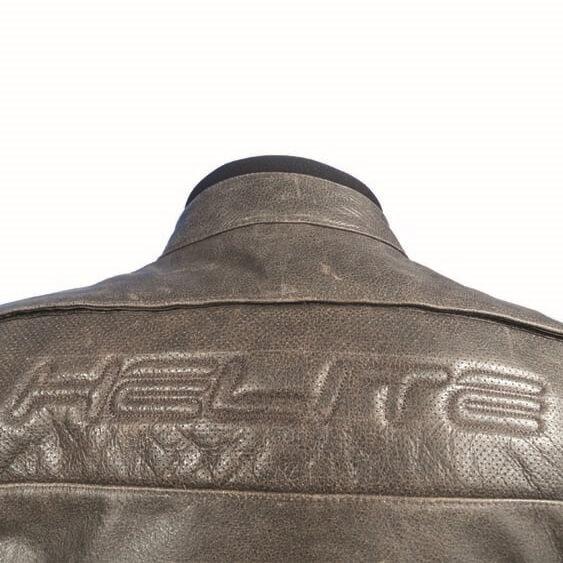 Airbagová bunda Helite Roadster Vintage hnedá kožená - hnedá. CE  homologovaný ... 96a52e0fdfc