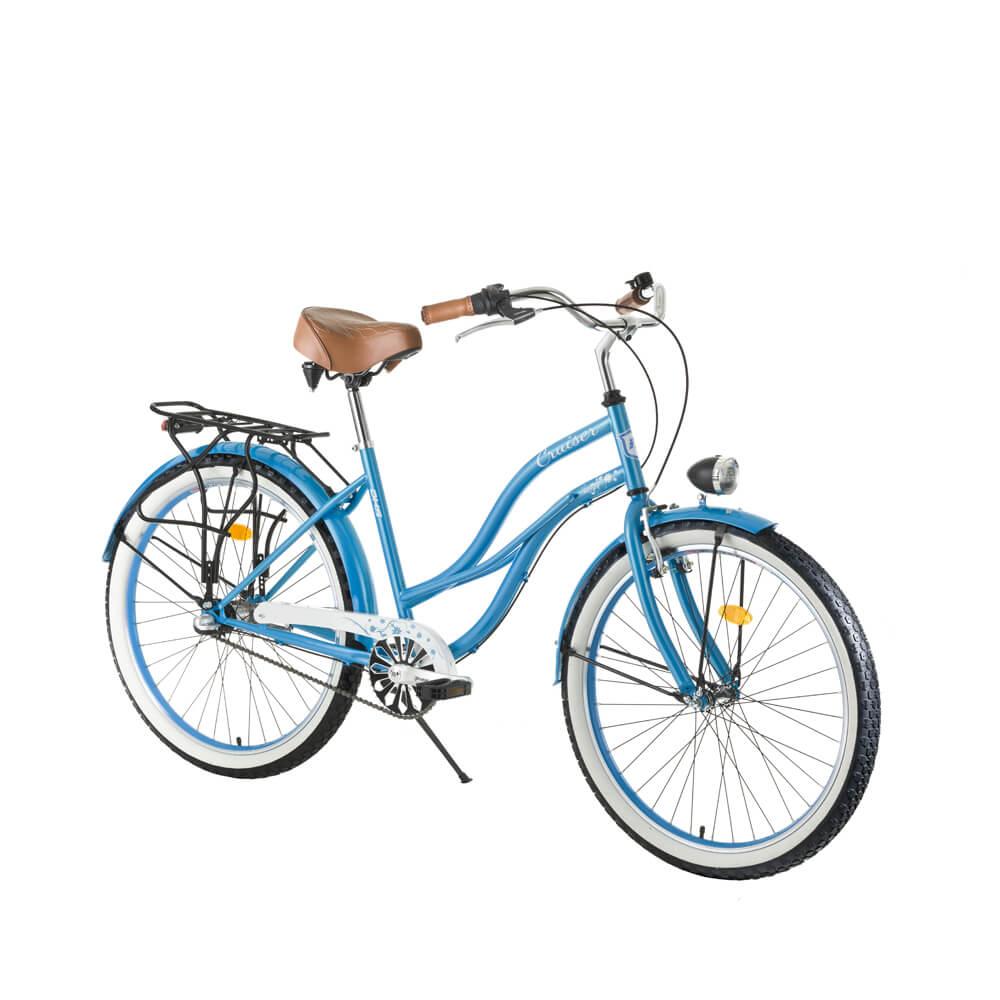 a34170bae Dámsky mestský bicykel DHS Cruiser 2696 26