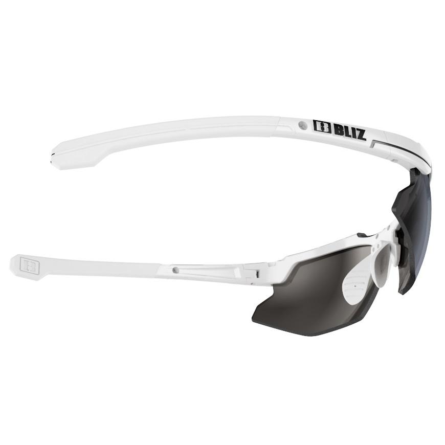 Športové slnečné okuliare Bliz Force biele. Univerzálne športové okuliare  ... b55f12584ed