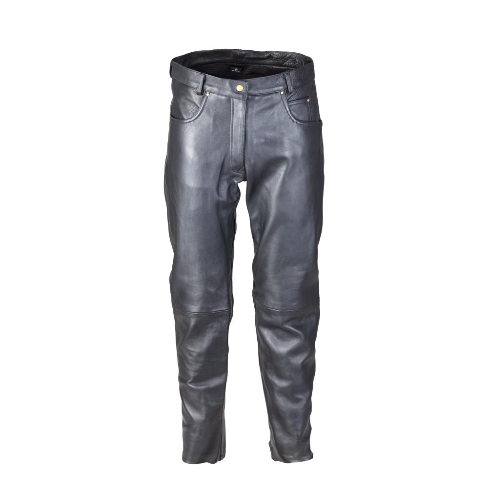 2e601036d088 Dámske kožené moto nohavice W-TEC Annkra NF-1250 - čierna. Odolný ...