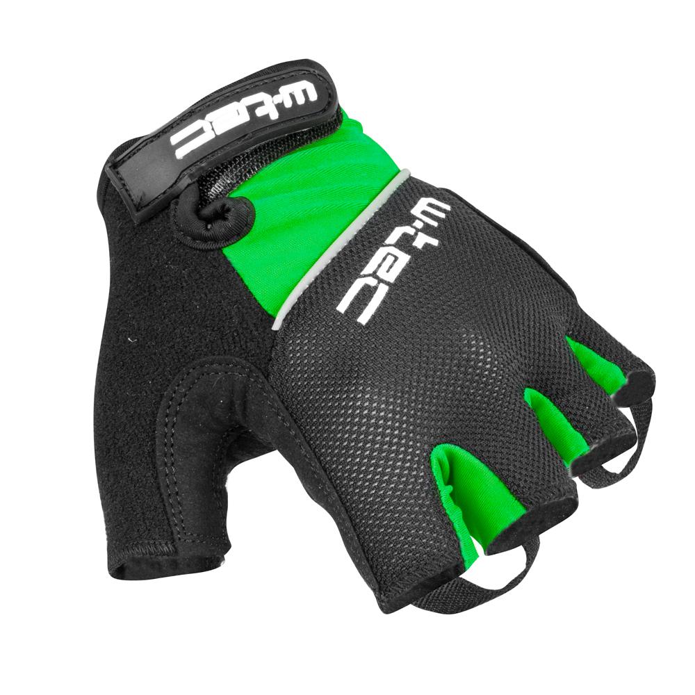 Cyklo rukavice W-TEC Bravoj AMC-1018-15 - zeleno-čierna a8cd1ddfa8