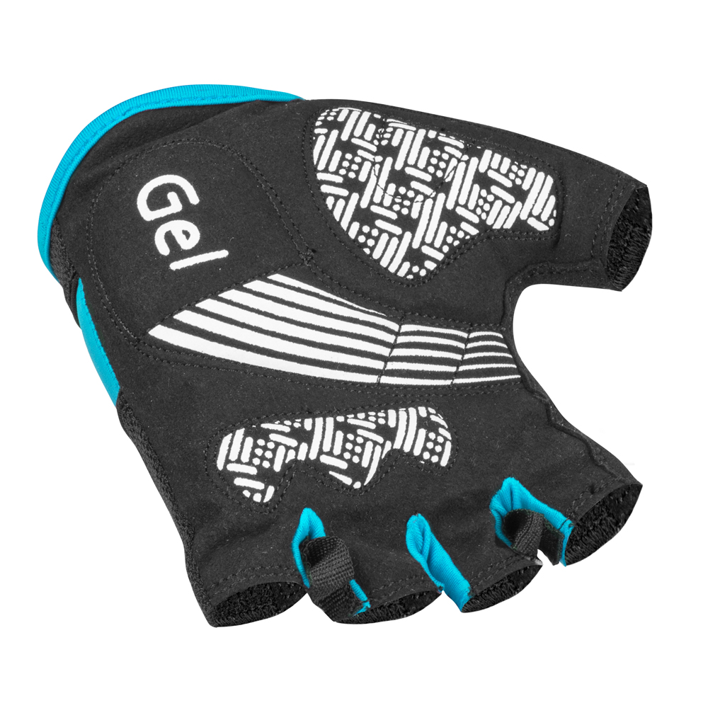 Cyklo rukavice W-TEC Sanmala AMC-1023-22 - modro-čierna. Gélové ... 658e8b6187