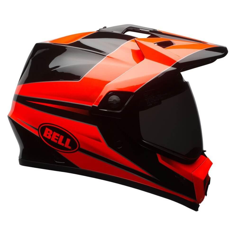 Motokrosová prilba BELL MX-9 Adventure MIPS - Stryker Flo Orange-Black.  Duálna helma ... 941a7ebd28
