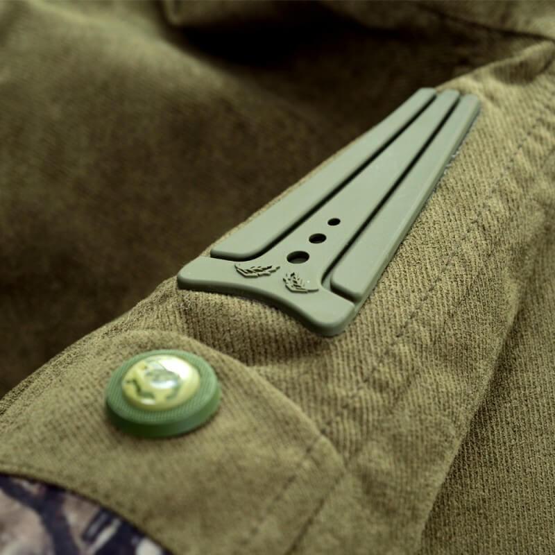 02bc368e0 Lovecká bunda Graff 659-B-L-2 - zeleno-hnedá. DryCare ...