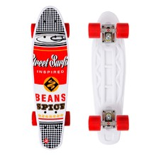 Pennyboard Street Surfing POP BOARD Souper Black Dot
