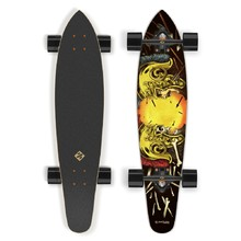 Longboard Street Surfing Kicktail - Spartans 36""