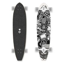 Longboard Street Surfing Cut Kicktail Rumble Jungle 36""