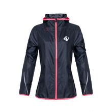 Dámska bežecká bunda Newline Imotion Hood Print s kapucňou - tmavo modrá d373404cda0
