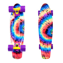 "Pennyboard WORKER Colory 22"" - Acid Rainbow (dúhová)"