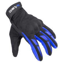 2a30cdf1fb3 Moto rukavice W-TEC Hirshla GS-9044 - modro-čierna