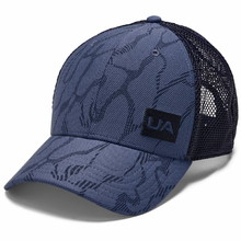 Šiltovka Under Armour Men's Blitzing Trucker 3.0 - Blue Ink
