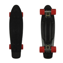 "Pennyboard Fish Classic 22"" - Black-Silver-Red"