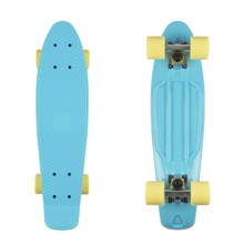 "Pennyboard Fish Classic 22"" - Summer Blue-Silver-Summer Yellow"