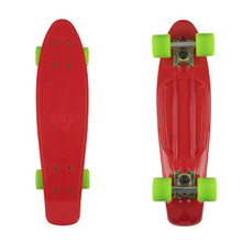 "Pennyboard Fish Classic 22"" - red/silver/green"