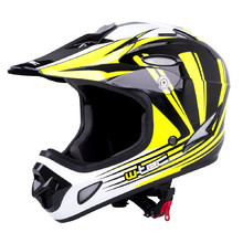 Downhill prilba W-TEC FS-605 Allride - Yellow Graphic