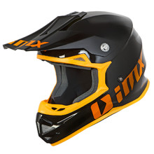 Motokrosová helma iMX FMX-01 - Play Black/Orange