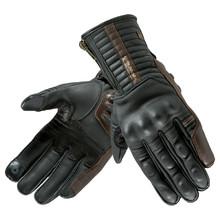 bd5ef0ce5b1e Kožené moto rukavice Rebelhorn Opium II Retro CE - čierna