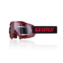 Motokrosové okuliare iMX Mud Graphic - red-black