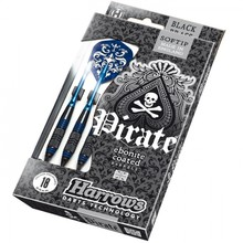 Šipky Harrows Pirate Soft 16g K Blue 3ks