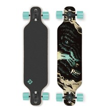 Longboard Street Surfing Freeride - The Wolf 39""
