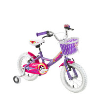 "Detský bicykel DHS Countess 1404 14"" - model 2017 - Purple"