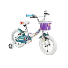 "Detský bicykel DHS Countess 1404 14"" - model 2016 - White"