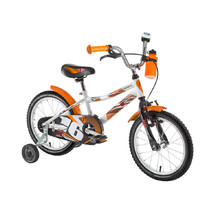 "Detský bicykel DHS Speed 1601 16"" - model 2017 - White"