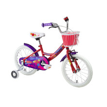 "Detský bicykel DHS 1402 14"" - model 2016 - Red"