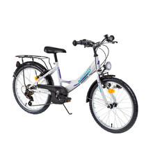 "Juniorský bicykel Kreativ 2414 24"" - model 2016 - White"