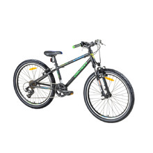 "Juniorský bicykel Devron Urbio U1.4 24"" - model 2017 - Toxic Black"