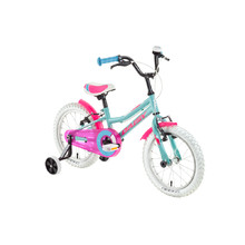 "Detský bicykel DHS Daisy 1604 16"" - model 2018 - Turquoise"