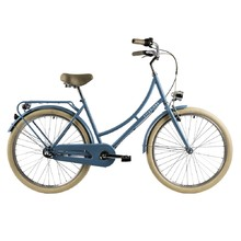 "Mestský bicykel DHS Citadinne 2636 26"" - model 2018 - Light Green"