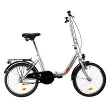 "Skladací bicykel DHS Folder 2092 20"" - model 2019 - Grey"