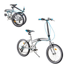 "Skladací bicykel DHS Folder 2095 20"" - model 2019 - Grey"