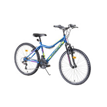"Juniorský horský bicykel Kreativ 2404 24"" - model 2019 - blue"