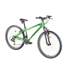 "Horský bicykel DHS Teranna 2623 26"" - model 2019 - Green"