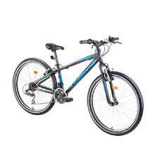 "Horský bicykel DHS Teranna 2623 26"" - model 2019 - Black"